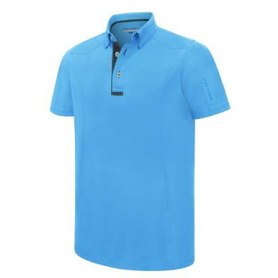 PHSH 190 Ethan Athletic Fit Azure Blue / Sark Slate Golf Apparel