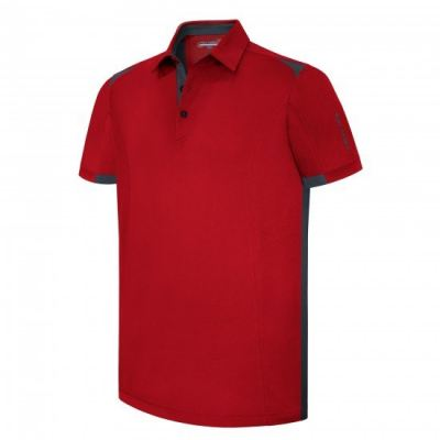 PHSH 231 ONEIL Modern Fit Current Red/Dark Slate Golf Apparel