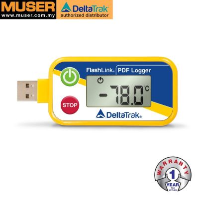 DeltaTrak 40535 - 40538 | FlashLink USB PDF -80��C In-Transit Logger