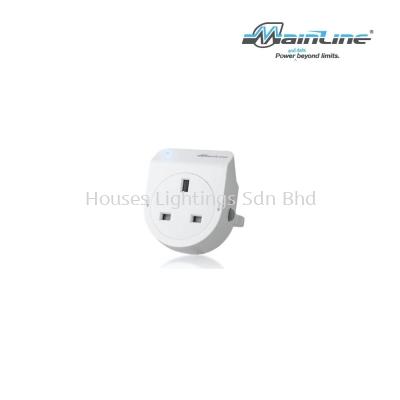 Mainline 13A Plug - WH