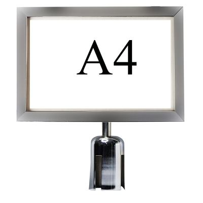 17131-A4 Sign Holder For Q-up Stand