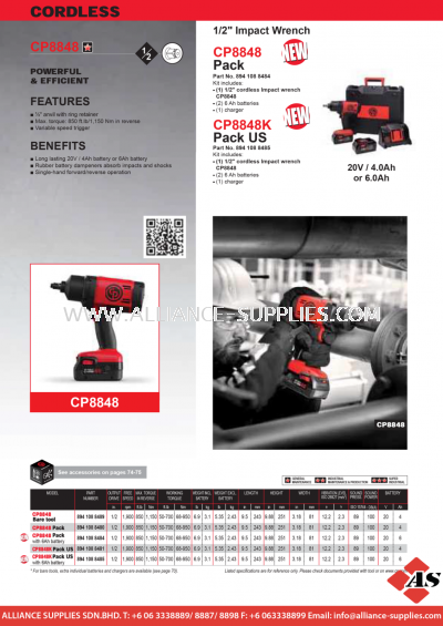 6.05.1 CP Impact Wrench & Driver