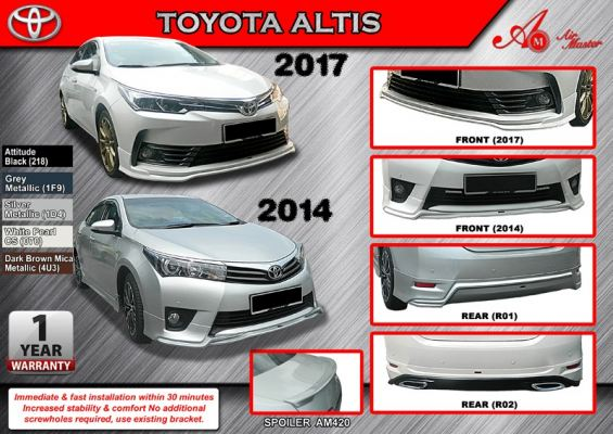 Toyota Altis 2017 AM Bodykit