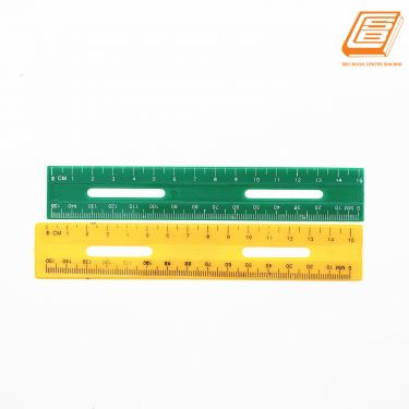 China - Colour Plastic Ruler 15cm