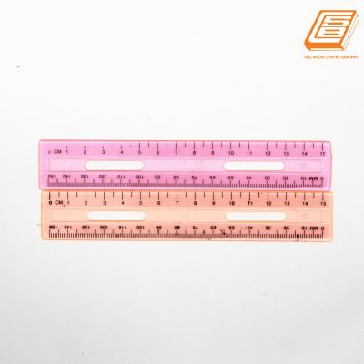 SBC - Transparent Plastic Ruler 15cm