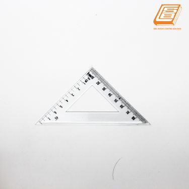 Transparent triangle Ruler 8cm