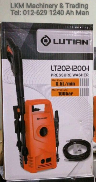 Lutian 100Bar High Pressure Cleaner 6.5L/min
