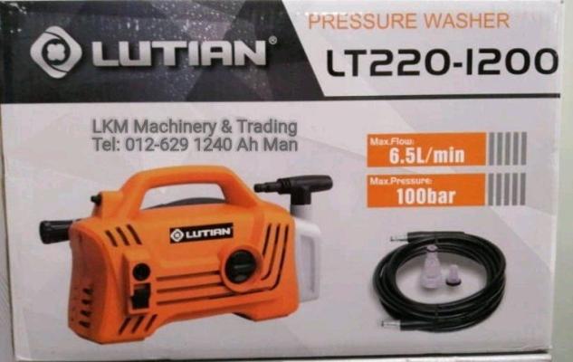 Lutian 100Bar High Pressure Cleaner LT220-1200