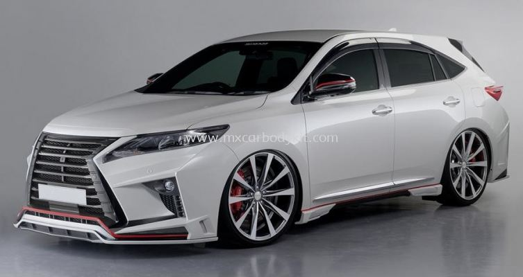 TOYOTA HARRIER 2017 ROJAM BODYKIT
