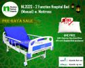 NL202S Hospital Bed 2 Functions (Manual) Manual Hospital Beds Hospital Beds