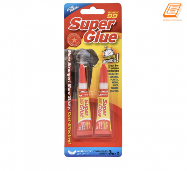 Unicorn - Quick 99  Super Glue 3g - (USG-99-3G(2'S) )