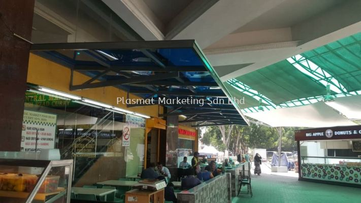 SOLID POLYCARBONATE ROOFING/AWNING