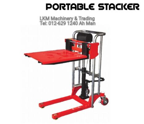 Portable Stacker 400kg(90-850mm Height)