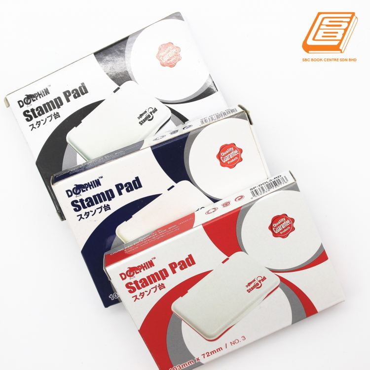 Dolphin - Stamp Pad 103mm x 72mm  - (SP-DOL3)