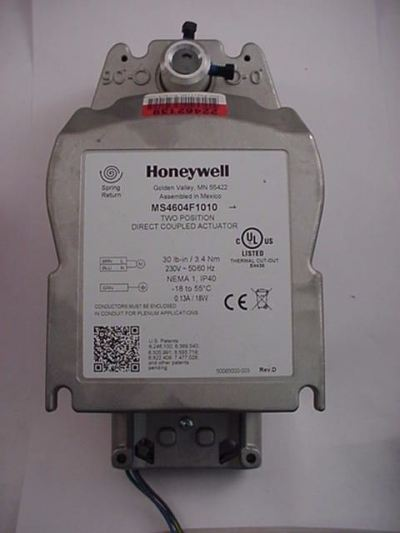 Honeywell MS4604F1010 Direct Coupled Actuator Two-position SR 230v