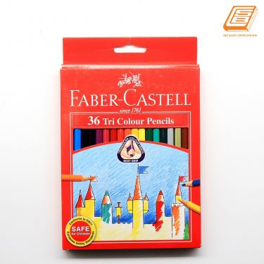Faber-Castell - 36 Tri Colour Pencils -(115875)