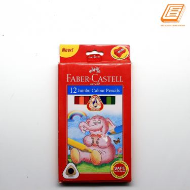 Faber-Castell - 12 Jumbo Colour Pencils - (115877)