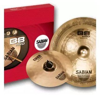 Sabian 35005B B8 Pro Effects Pack 10/18 Inch Cymbal Set