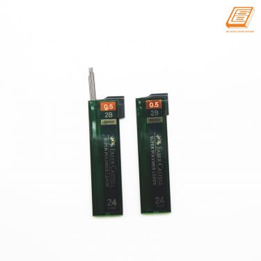 Faber-Castell - Super Polymer Leads  - 0.5mm - 2B - (124533)