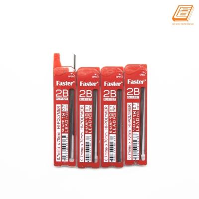 Faster - Hi Polymer Pencil Lead 0.7mm - 2B - (PL-F-127N)