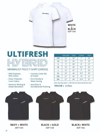 UF HYBRID POLO (UNISEX)