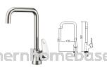 Kitchen Pillar Sink Tap - Mixer or Cold Only Sink Tap Kitchen