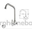 Wall Sink Tap Aimer AMFC-3657A Sink Tap Kitchen