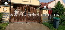MMG012 Metal Main Gate (Grill)