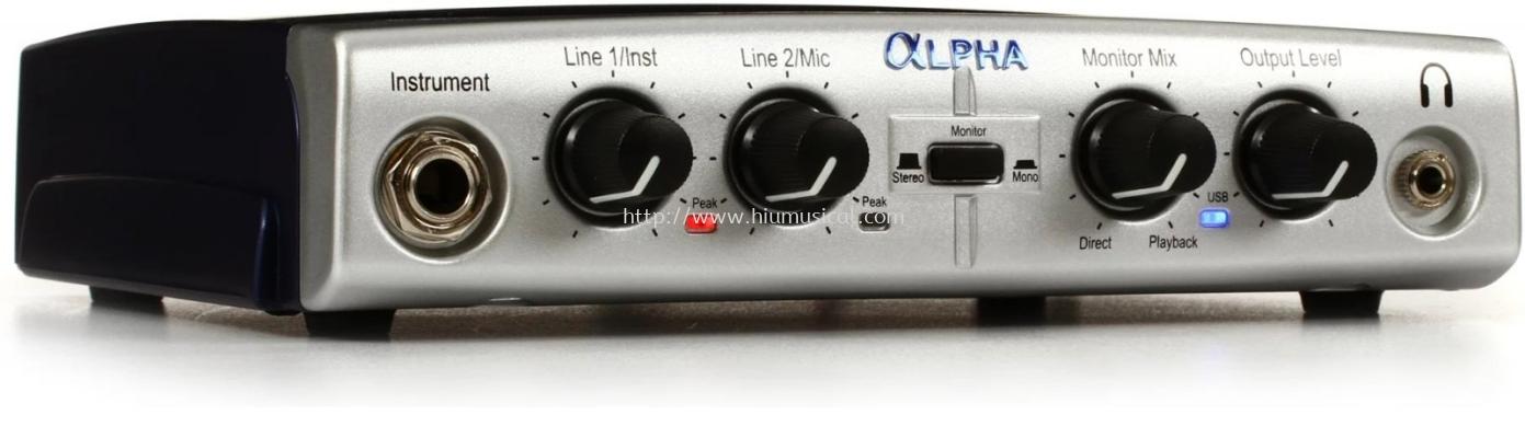 Lexicon Alpha Desktop USB Audio Interface