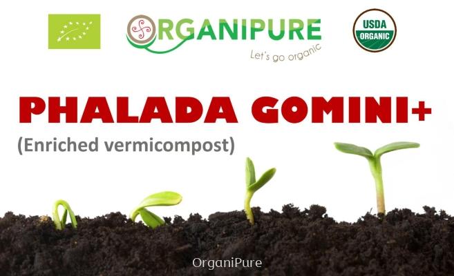PHALADA GOMINI+ (Enriched vermicompost)