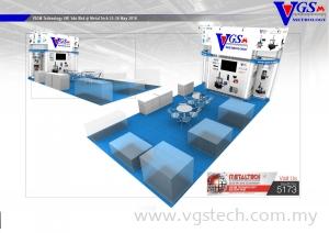 Visit VGSM Booth No.5173 (Hall 5) @ METALTECH May 2018 at PWTC Kuala Lumpur, Malaysia.