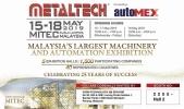 Visit us VGSM Technology @ Booth 2255 (Hall 2) METALTECH 2019 at MITEC Kuala Lumpur, Malaysia.