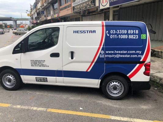 Nv200 nissan van sticker wrap