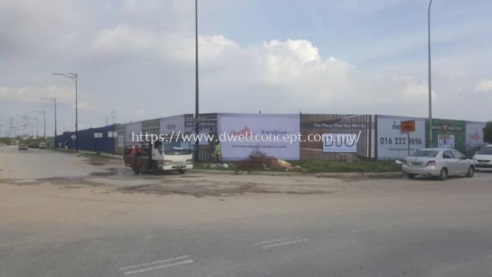 Rivertree Bukit Raja Hoarding Wall