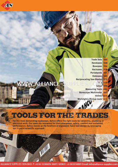 1.18.0 WILLIAMS Tools for the trades