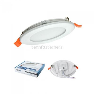 "LITEME RML39  6"" 12W Ultra Slim LED Downlight(COOLWHITE)"