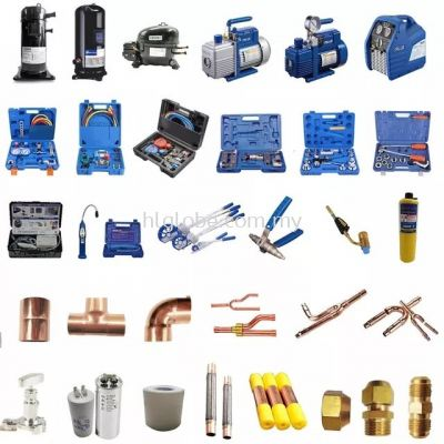 Refrigerant Part and Tools