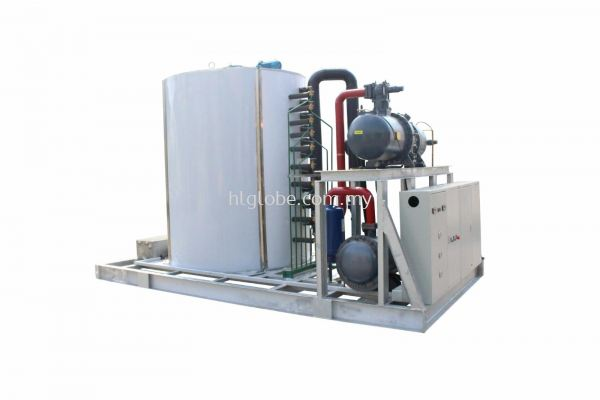Flake Ice Condensing System 25Ton per Day