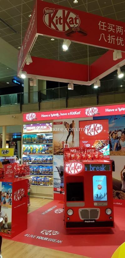 KitKat Promotion Booth