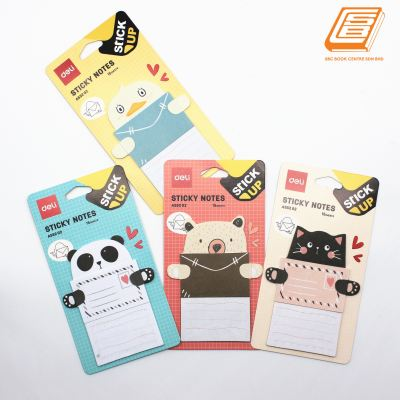 Deli - Cute Animal Sticky Notes - (A55202)