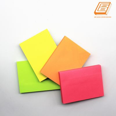 Deli - Neon Colours Sticky Notes - (A02402)