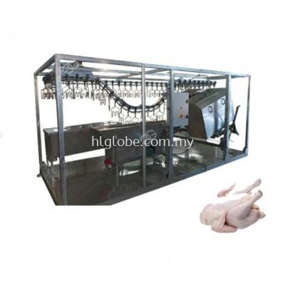 Semi Auto Up 1000 Birds Per Hour Broiler Depending On Scalding Requirements