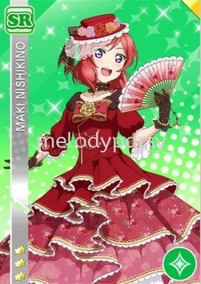 Love Live Maki Nikishino ball gown/ Love Live ��ľҰ�漧