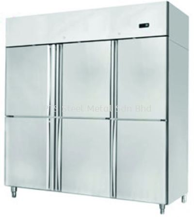 6 DOOR UPRIGHT CHILLER B/S