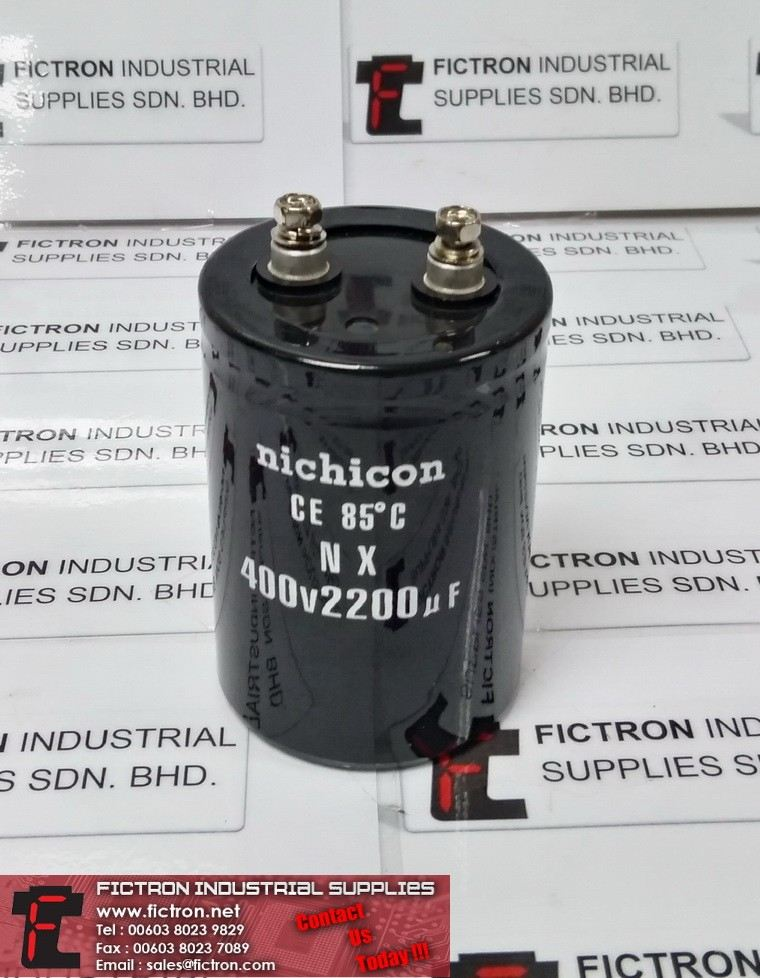 400v4700UF NICHICON CAPACITOR Supply,By Fictron Industrial Supplies (4) NICHICON Capacitors