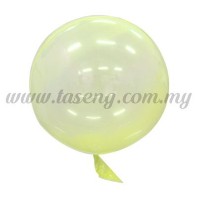 18inch Seamless Festive Crystal Balloon *Yellow (B-18CB-Y)