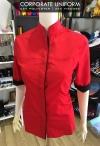 Corporate Uniform Mandarin Collar Design Female (UTD 1002)  Corporate Uniform Uniform