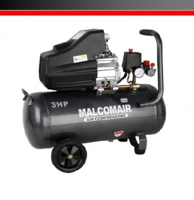 Malcomair MAL-50 3hp 50L 8Bar Poratble Air Compressor