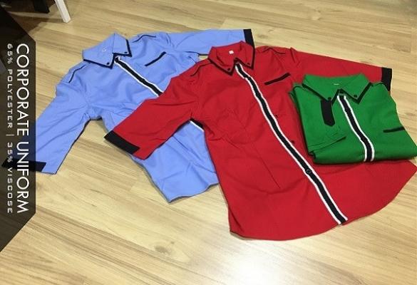 Corporate Uniform Panel Line Design Female (UCD 1009)