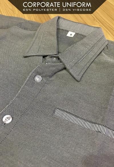 Corporate Uniform Texture Line Design Unisex (UCD 1010)